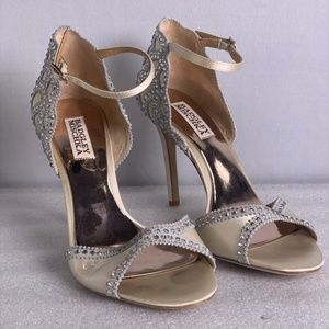 BADGLEY MISCHKA Gillian Dress Heels